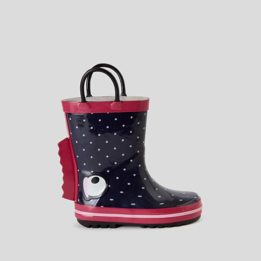 Botas de lluvia de goma