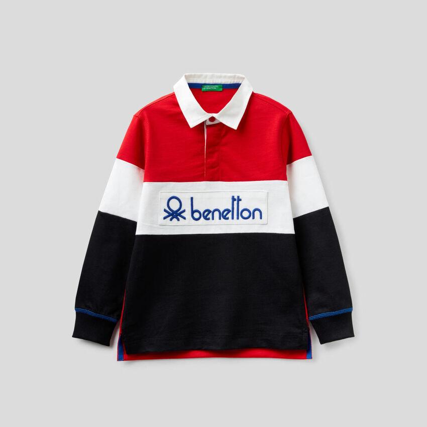 Polo de rugby 100% algodón