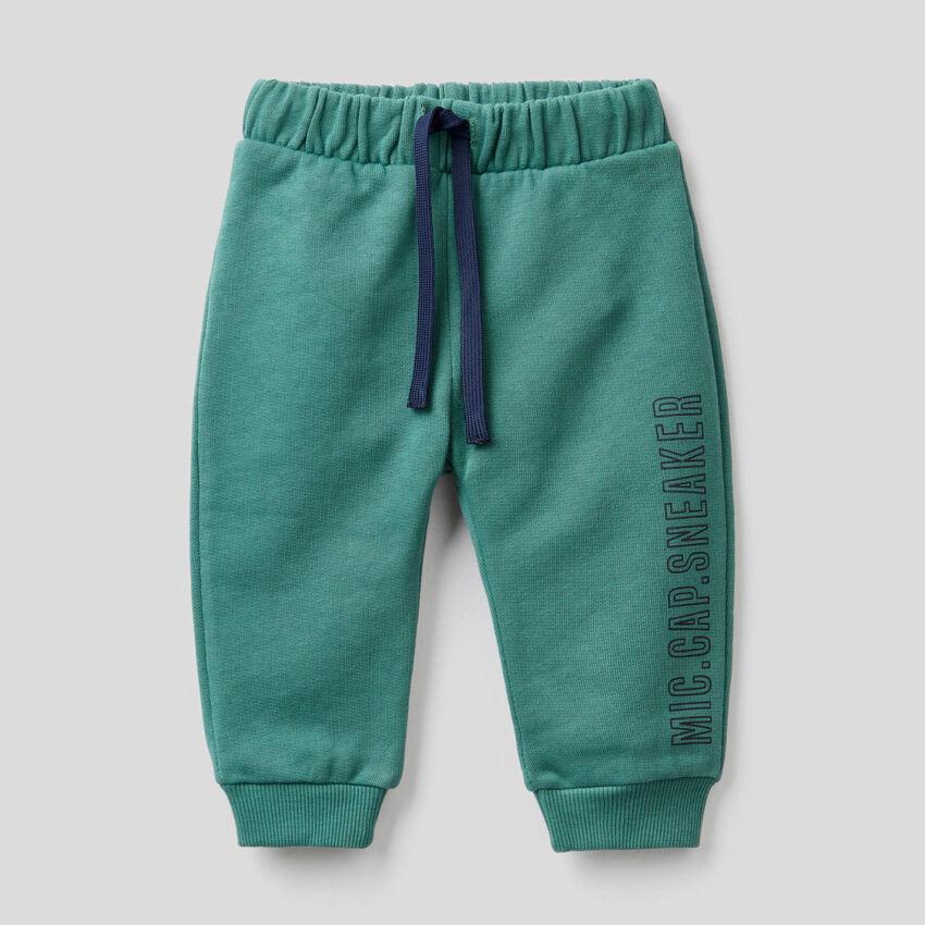 Pantalón de felpa de algodón orgánico