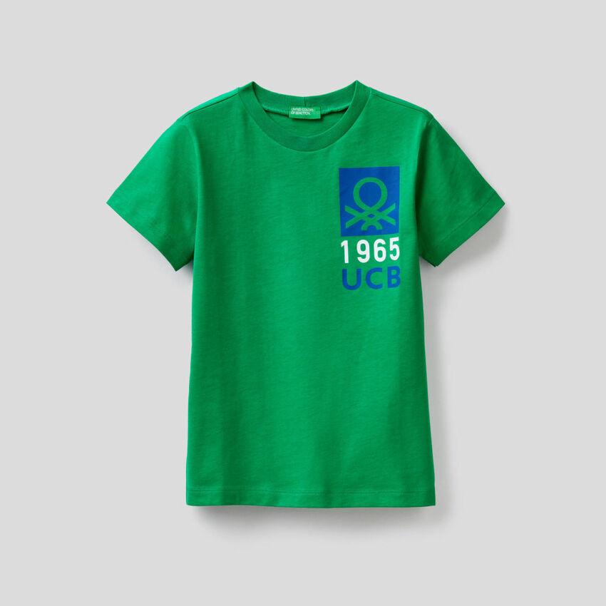 Camiseta de 100 % algodón con estampado