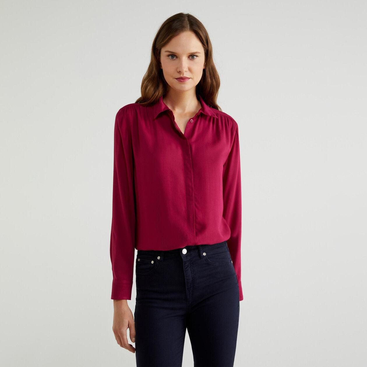 Camisa de viscosa