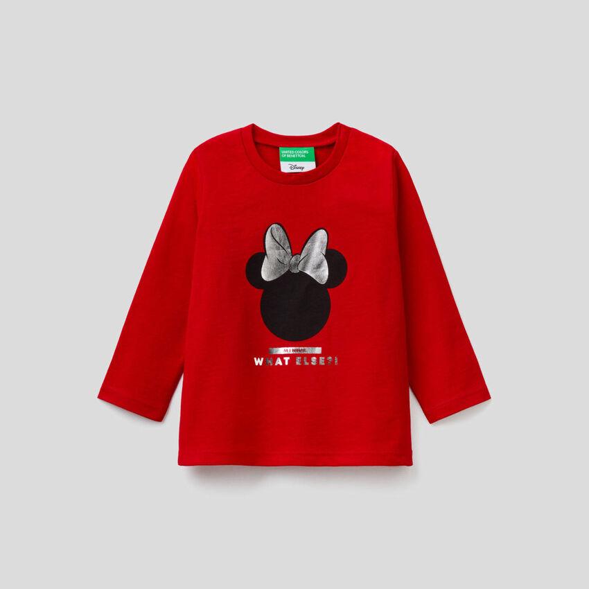 Camiseta de Minnie de manga larga