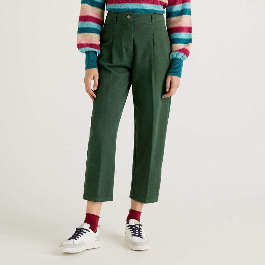 Pantalón slouchy de 100 % algodón