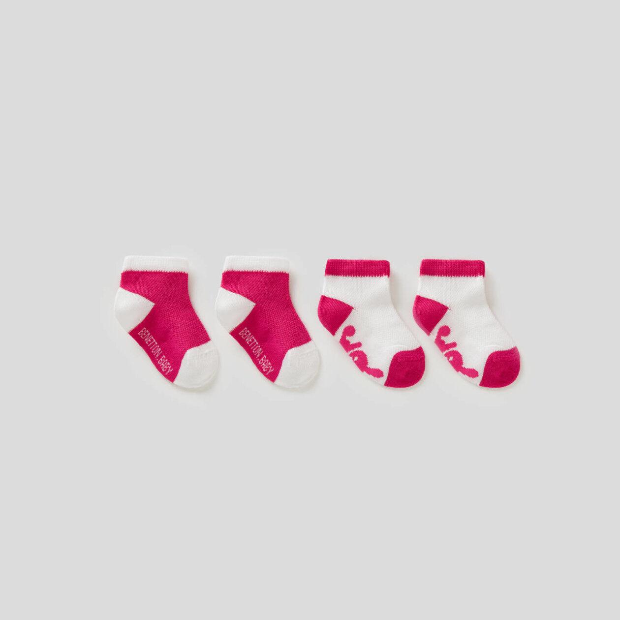 Pack de calcetines en dos colores