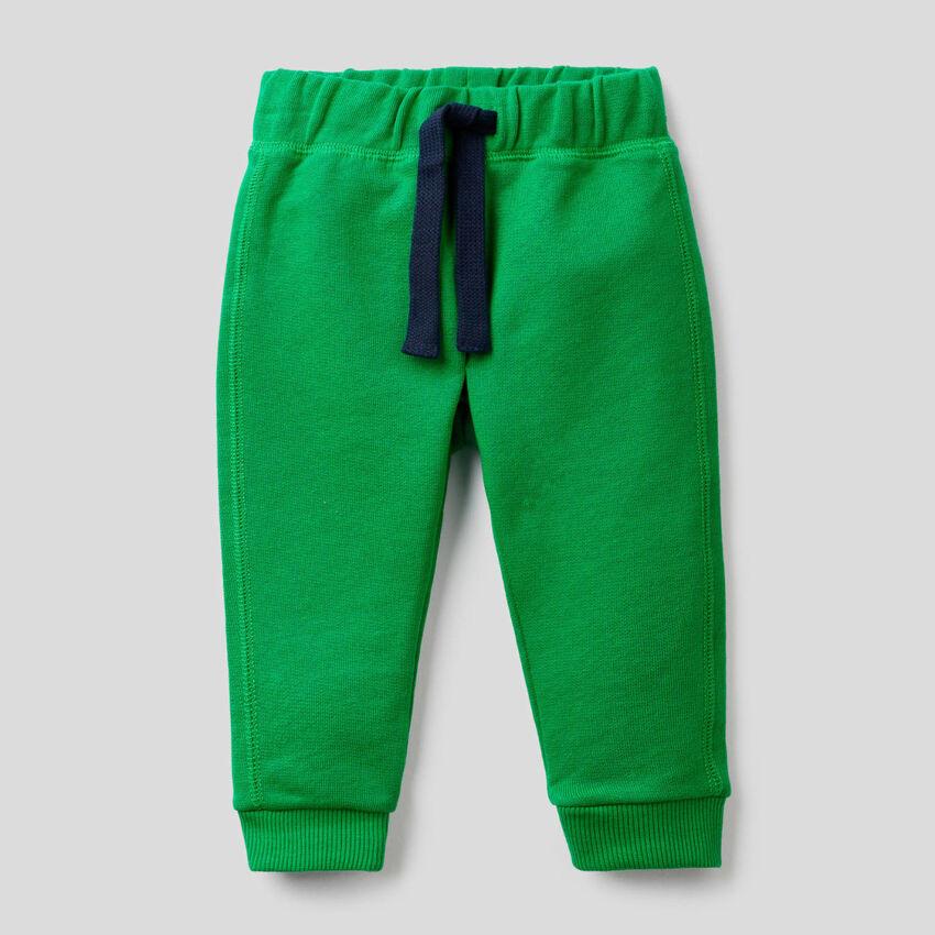 Pantalón de felpa de 100 % algodón