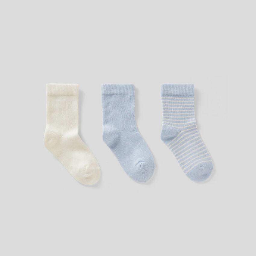 Pack de calcetines en tonos azules