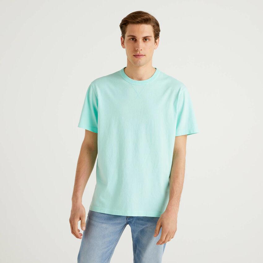 Camiseta de 100 % algodón con logotipo