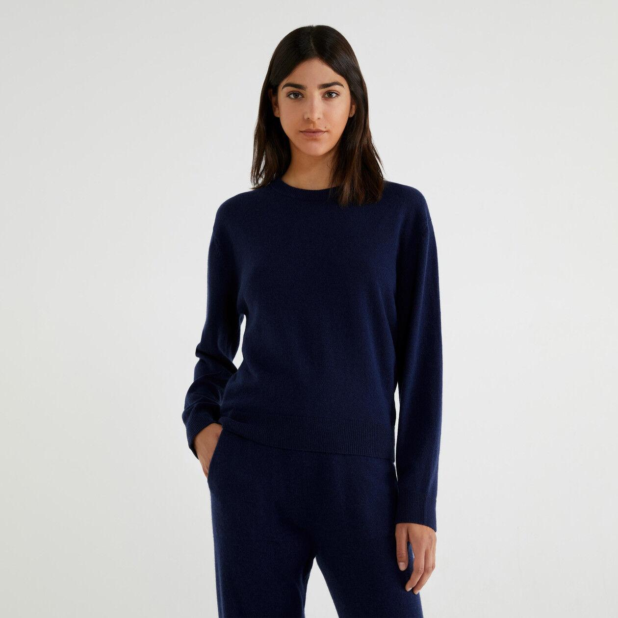 Jersey de cachemir y lana virgen