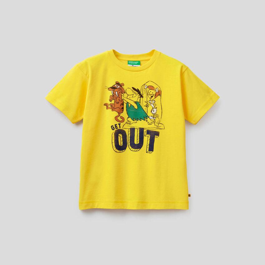 Camiseta de los Picapiedra de algodón orgánico