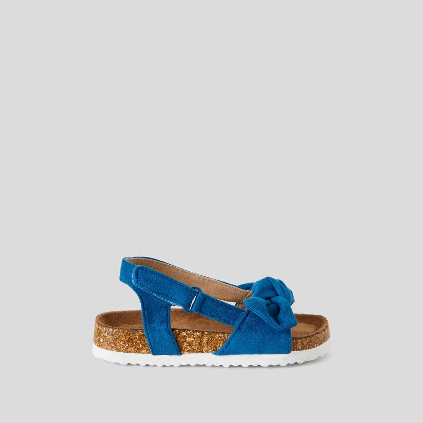 Sandalias con lazo
