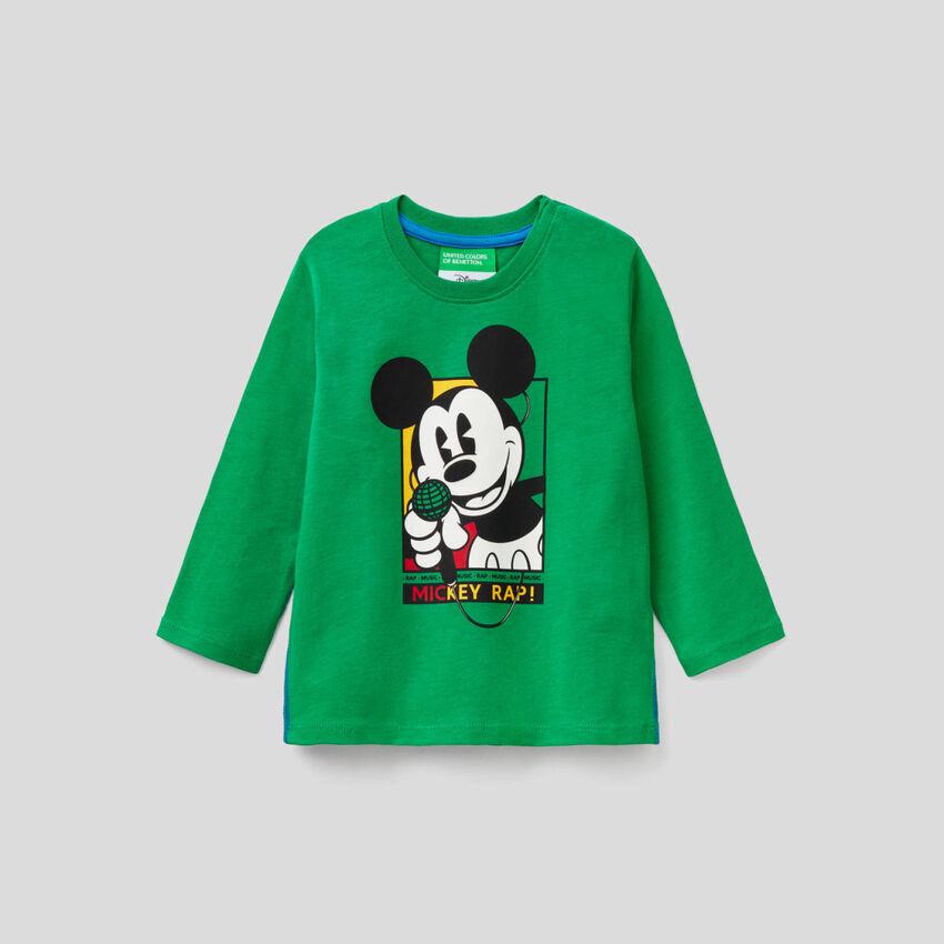 Camiseta de Mickey en algodón 100%