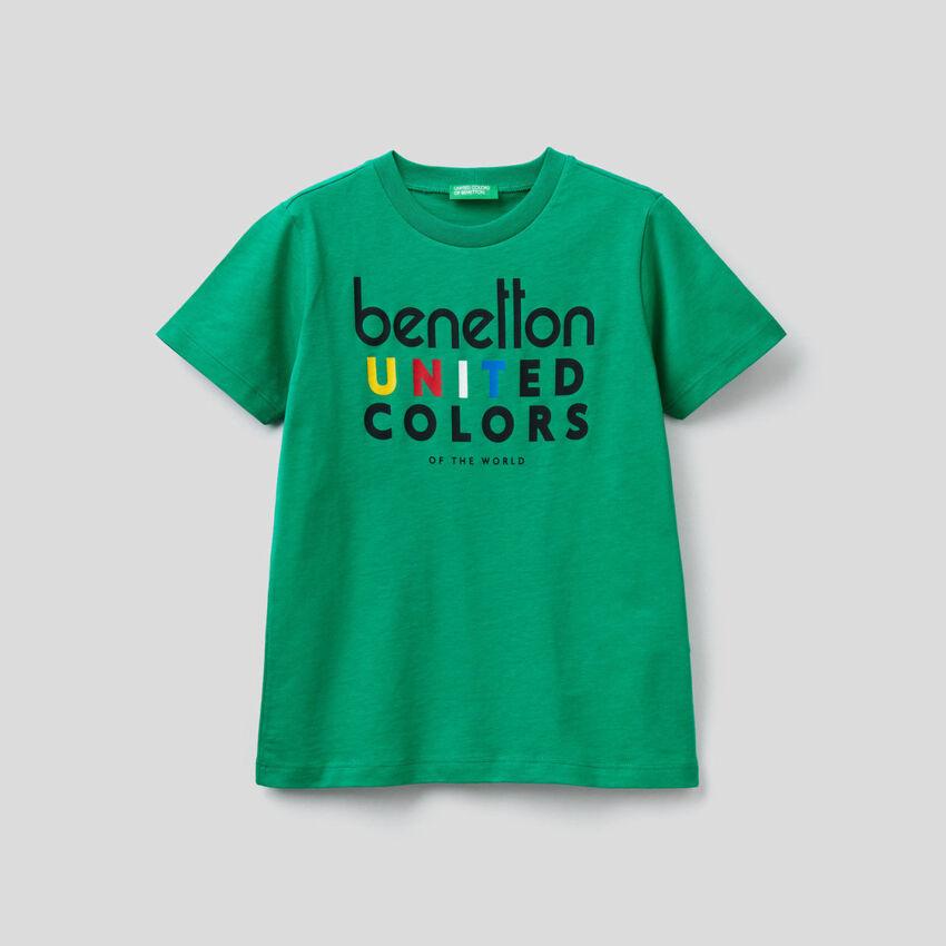 Camiseta de 100 % algodón orgánico