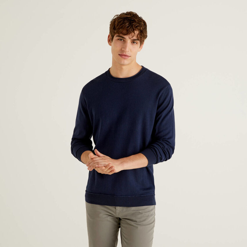 Jersey de 100 % algodón de tacto cálido