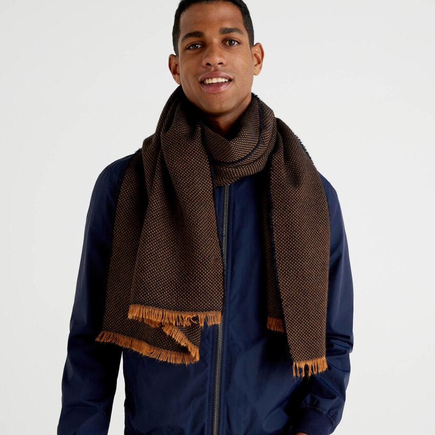 Bufanda de lana y alpaca