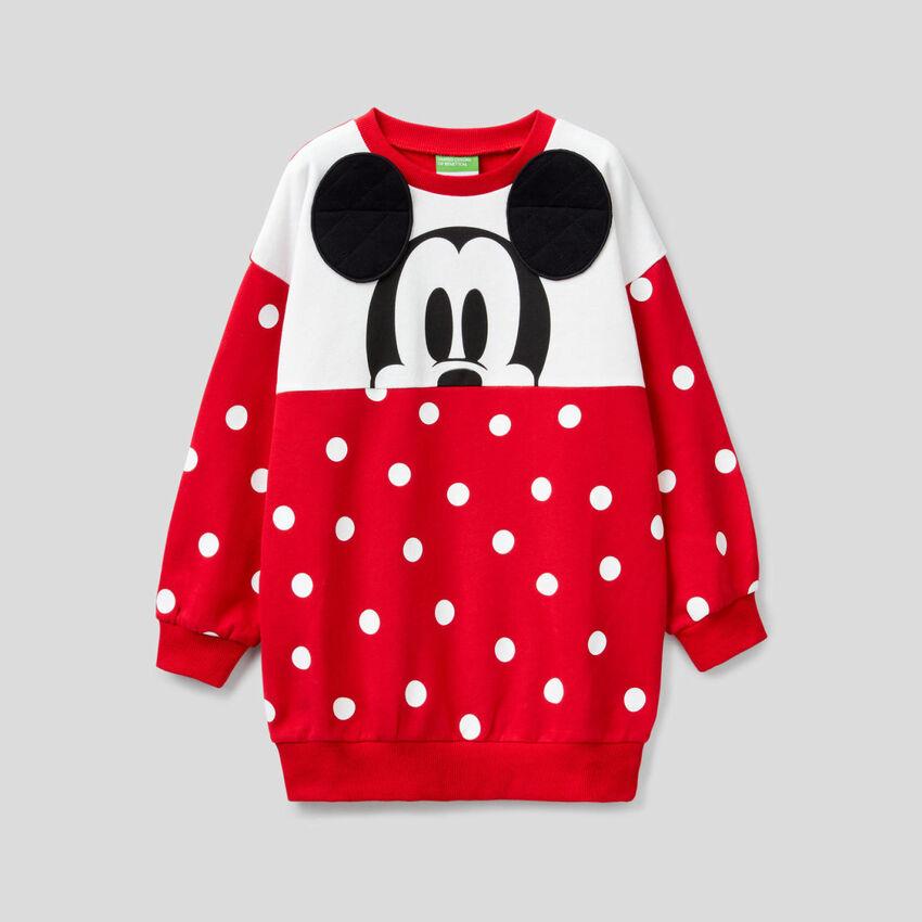 Maxi sudadera de Mickey de lunares