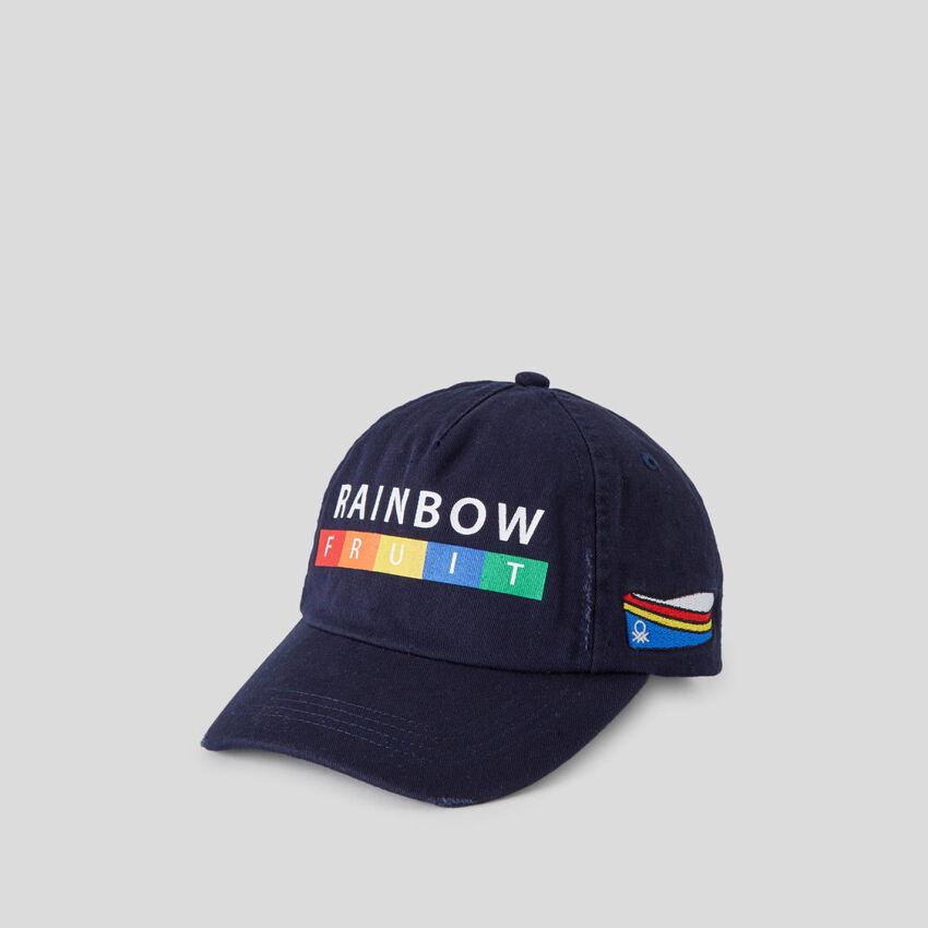 Gorra de béisbol azul oscuro