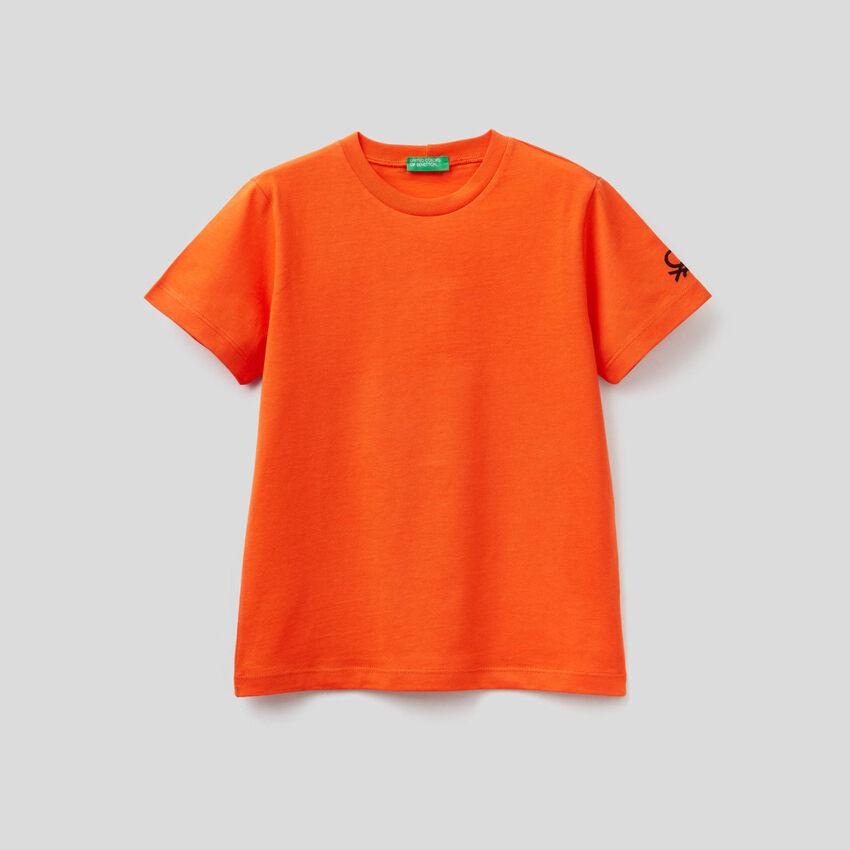 Camiseta personalizable de algodón orgánico