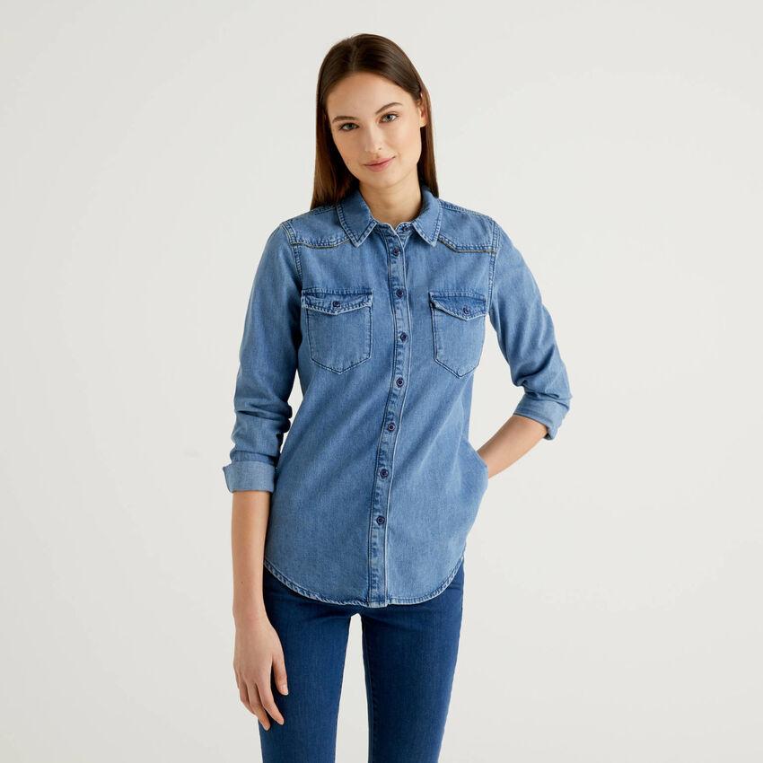 Camisa de estilo western