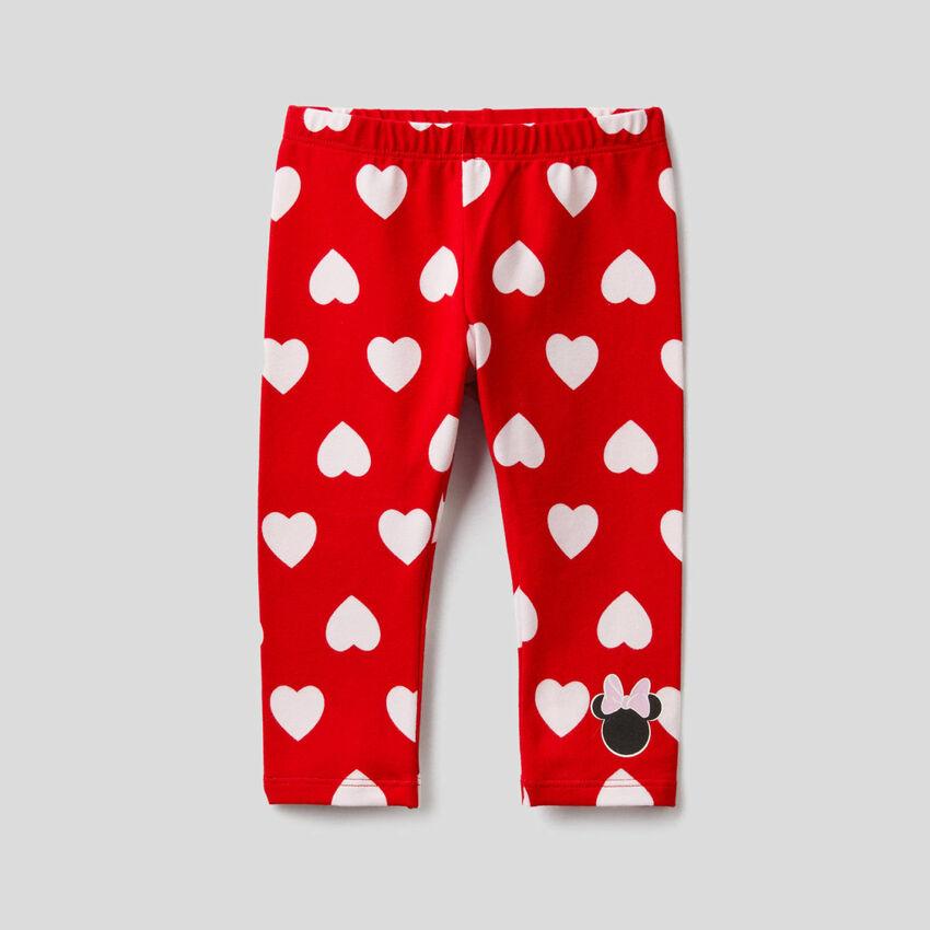 Leggings rojos con estampado de Disney