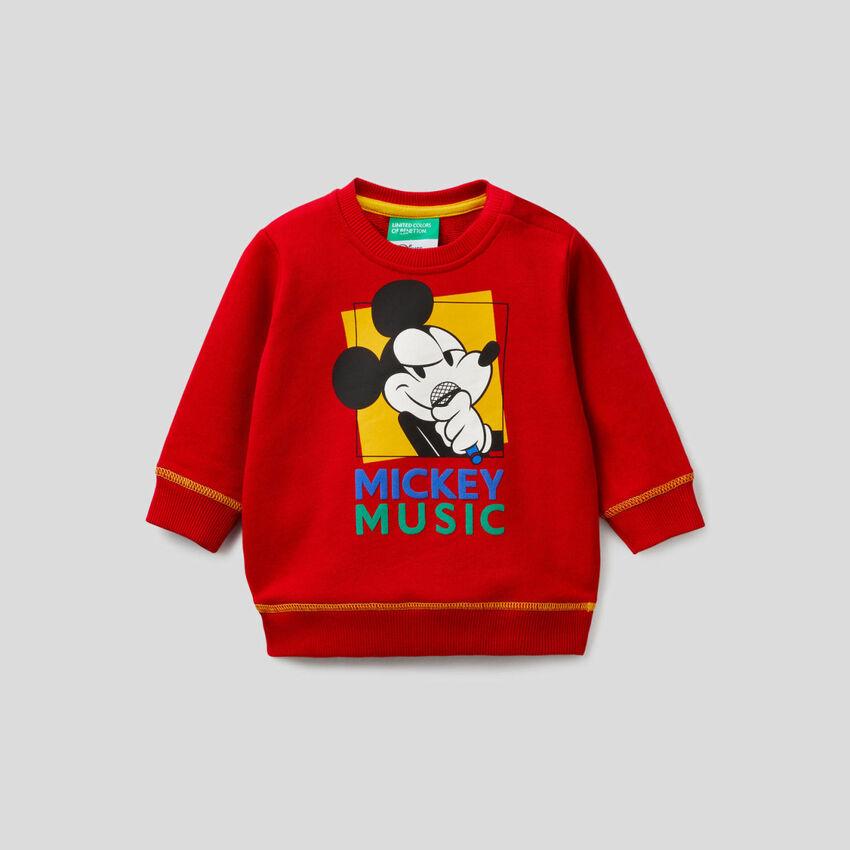 Sudadera de Mickey en algodón 100%