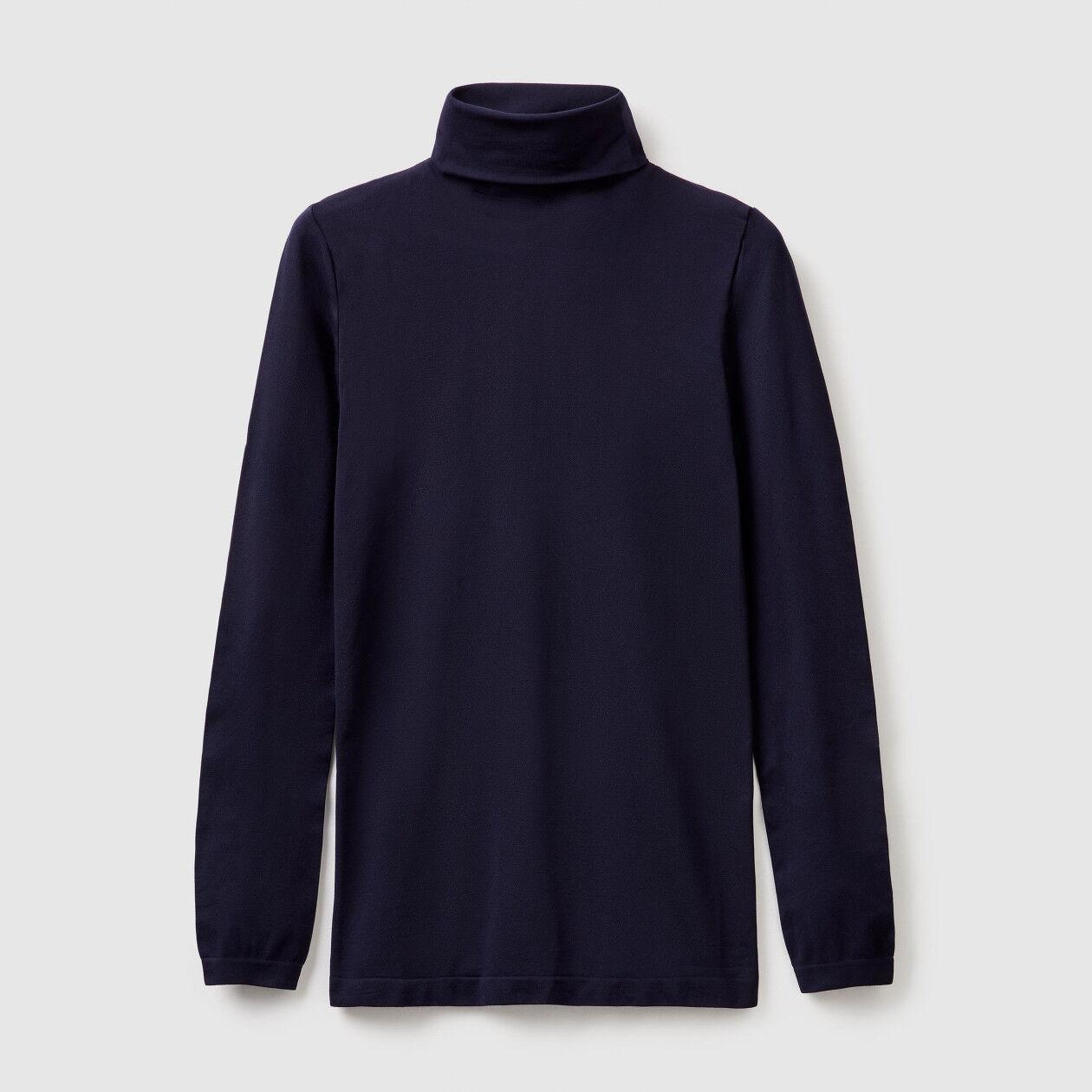Jersey de cuello elástico