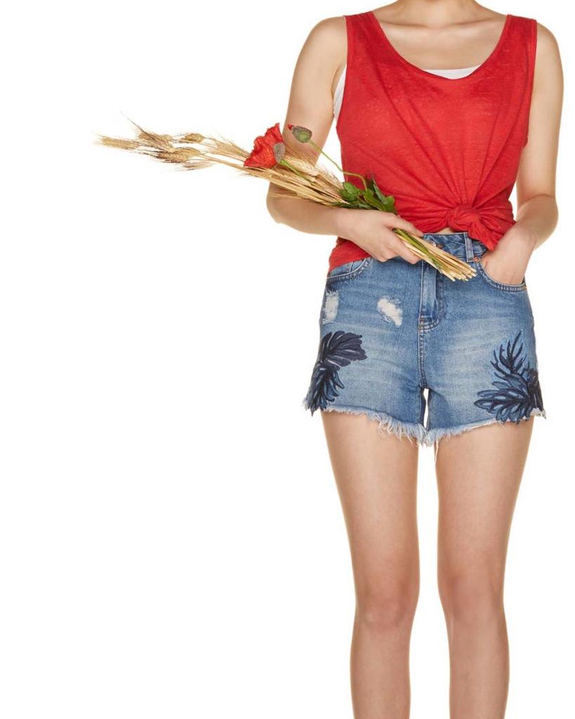 ColecciónBenetton Vaqueros Pantalones De Cortos Nueva Mujer H2IDE9eWbY
